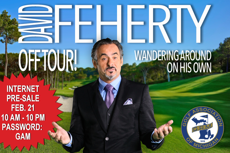 GAM MEMBER EXCLUSIVE: See David Feherty Live on June 27