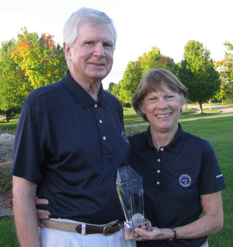 Connie and Mike Brady Named Course Raters of the Year