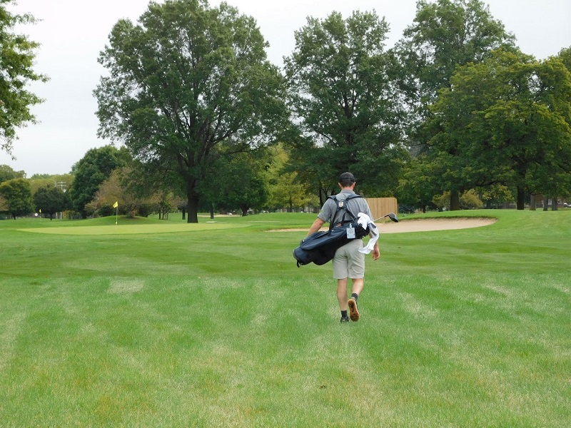 100 HOLE HIKE – GAM Executive Director Chris Whitten Raises Almost $4,000 While Playing 100 Holes at Chandler Park