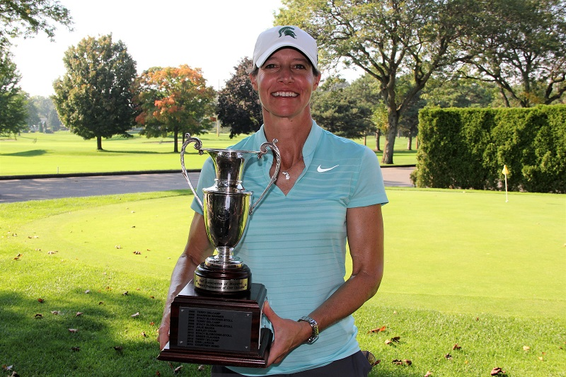 MSU's Stacy Slobodnik-Stoll Wins Playoff, Repeats in GAM Tournament of Champions