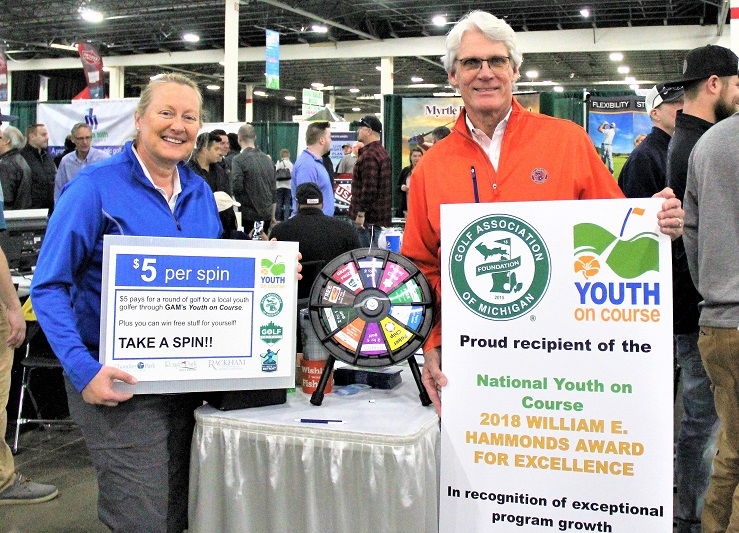 Golf Show Visitors, Golf Detroit, Youth On Course, GAM Team Up to Provide Free Golf for Kids