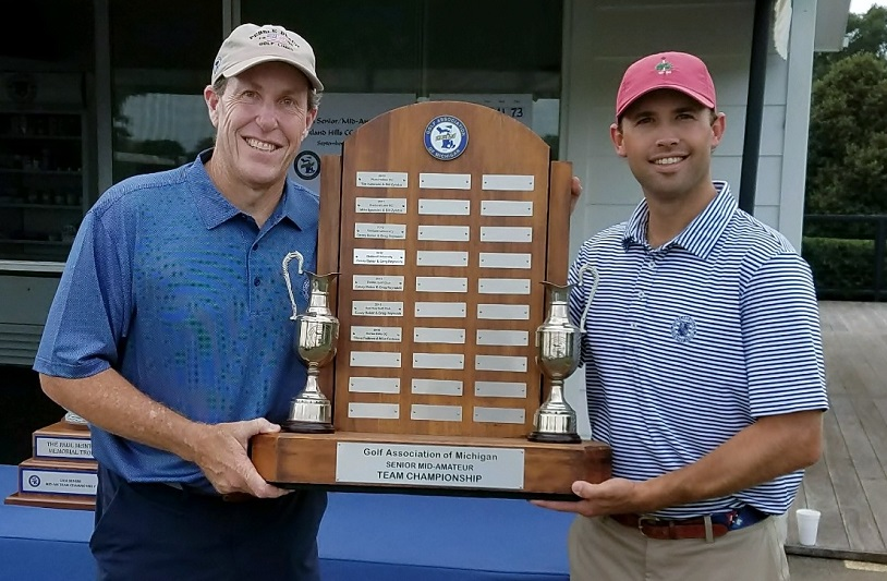 Oakland Hills Members Tom Gieselman and Scott Strickland Win GAM Senior Mid-Am Team Finals
